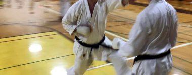 Steve's sanbon kumite